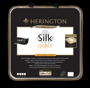 Silk Ultimate Queen Luxury Quilt by Herington