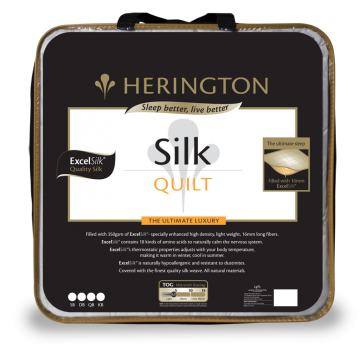 Silk Ultimate Double Luxury Quilt by Herington