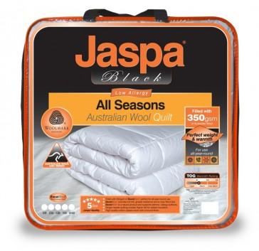 Wool All Seasons King Quilt by Jaspa Black
