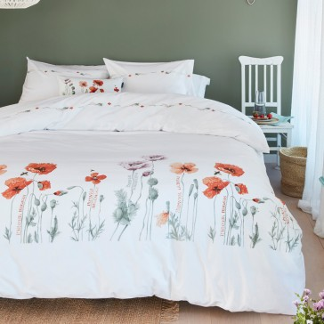Korenroos Red Marjolein Bastin Quilt Cover Set by Bedding House