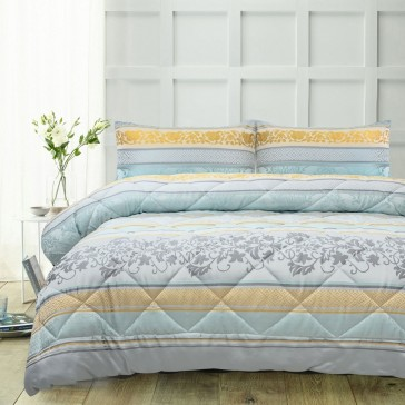 Delta 3 Piece Comforter Set by Accessorize