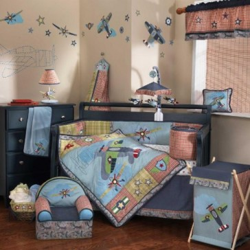 Wings 6 Piece Bedding Set by Lambs N Ivy