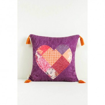 Romantic Patch Cushion