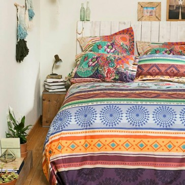 Tribal Galactic Queen Quilt Cover Set by Bambury