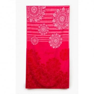 Romantic Patch Bath Towel
