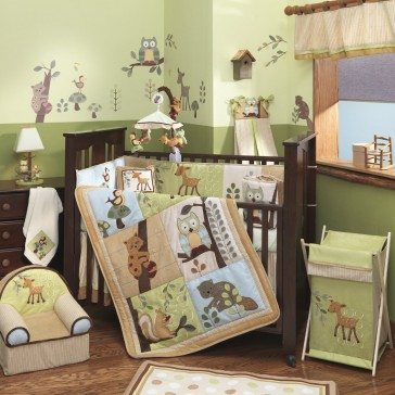 Enchanted Forest 6pc Bedding Set by Lambs & Ivy