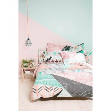 Nordic Mood Quilt Cover Set by Bambury