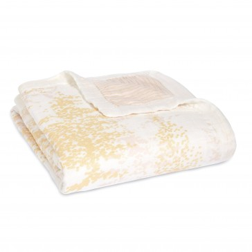 Metallic Primrose Dream Blankets by Aden and Anais CS