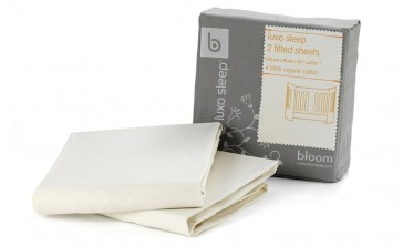Alma Mini Natural Wheat Fitted Sheet by Bloom