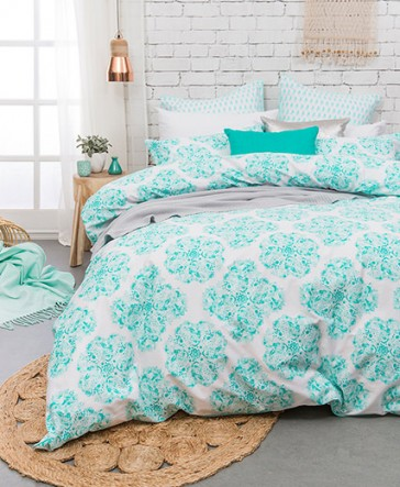 Ashleigh European Pillowcases by Bambury