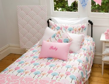 Autumn King Single Quilt Cover Set by Lullaby Linen