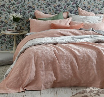 Aviana Bedcover Set Rose
