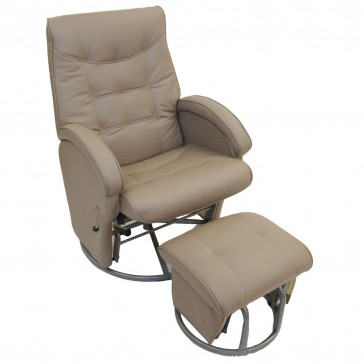 Diva Glider Chair and Ottoman by Babyhood