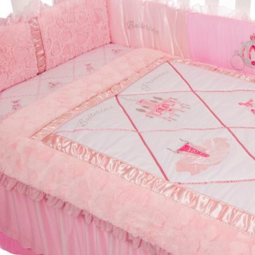 Ballerina Princess Cot Set 4pce by Amani Bebe