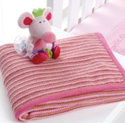 Playgro Ballerina Mouse Knitted Blanket by Babyhood