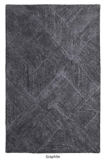Balta Graphite Hand Tufted Rug by Rug Republic