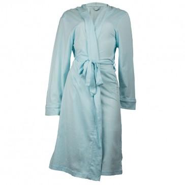 Jersey Hooded Aqua