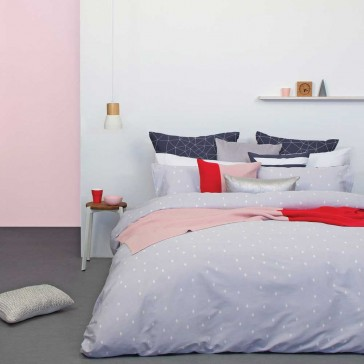 Aster Quilt Cover Set by Bambury