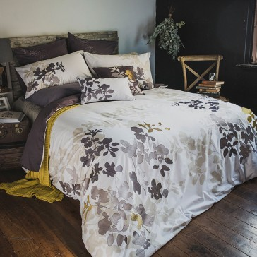 Ivy Single Quilt Cover Set by Bambury