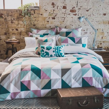 Lucia Quilt Cover Set by Bambury