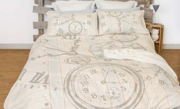 Bedtime Queen Quilt Cover Set by Retro Home