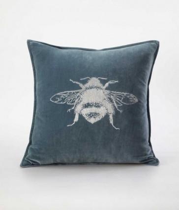 Beemine Cushion Bluestone by MM Linen