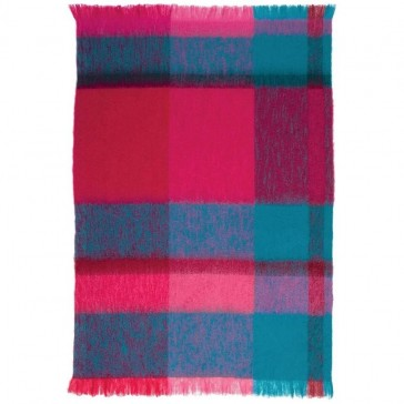 Mohair Beets Throw Rug by St Albans