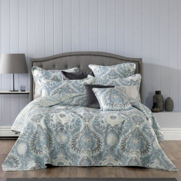 Braidwood Blue Bedspread Set