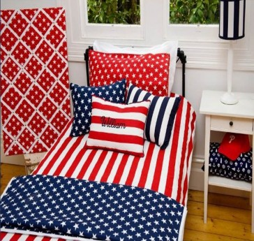 Brighton Red King Single Quilt Cover Set by Lullaby Linen