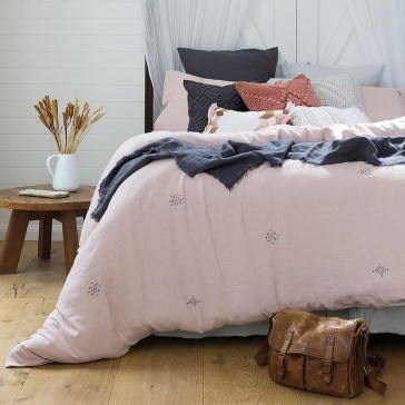 Ana Queen Quilt Cover Set by Bambury