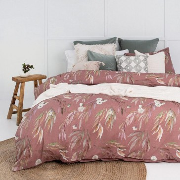 Coolibah Double Quilt Cover Set by Bambury
