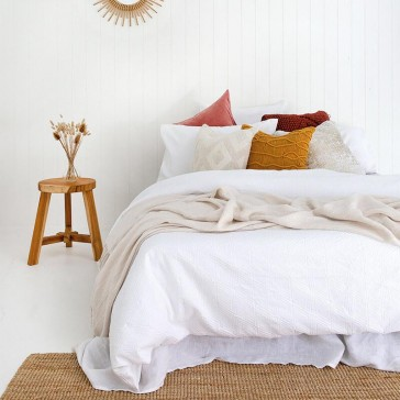 Orana Double Quilt Cover Set by Bambury