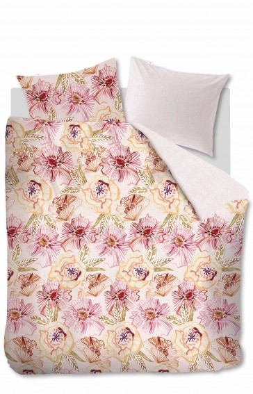 Oilily Rose Dust Pink Quilt Cover by Bedding House