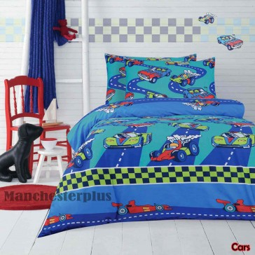 Cars Quilt Cover Set by Ardor
