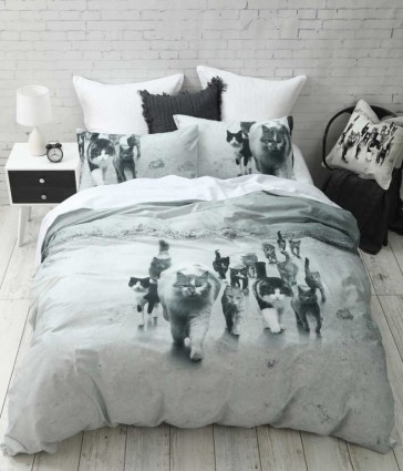 Catmob Quilt Cover Set by MM linen