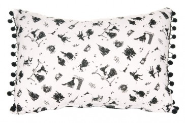 Cameo Cinderella Cushion by Lullaby Linen