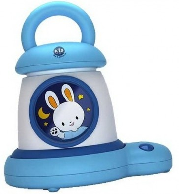 Claessens' Kids Kid'Sleep My Lantern Blue Bunny By Roger Armstrong