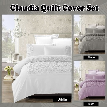 Claudia Quilt Cover Set by Phase 2