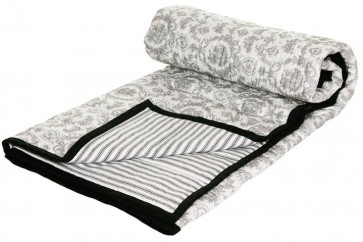 Cameo Baby Cot Comforter by Lullaby Linen