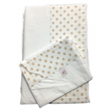 Vespa Double Sheet Set by Lullaby Linen