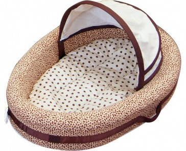 Wild Things Travel Cosy Crib by Amani Bebe