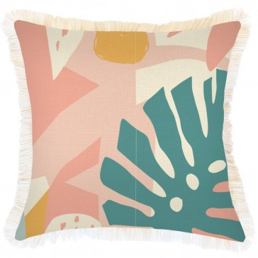 Cushion Cover Coastal Fringe Horizon by Escape To Paradise
