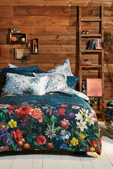 Desigual Living Dark Floral Quilt Cover set by Bambury
