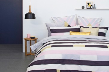 Domino Double Quilt Cover Set by Bambury
