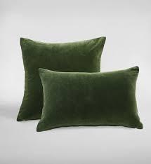 Encore Pesto Rectangle Cushion by MM linen