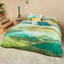 Toscane Green Quilt Cover Set by Bedding House