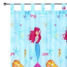Mermaid Curtain by Happy Kids