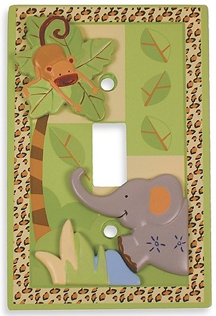 Zoofari Switch Plate Cover by Lambs & Ivy