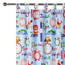 O'Clock Curtain by Happy Kids