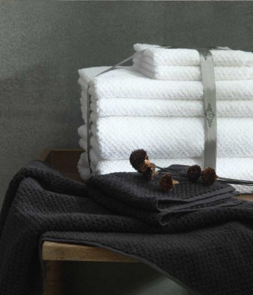 DuneTowel Set Charcoal by MM Linen
